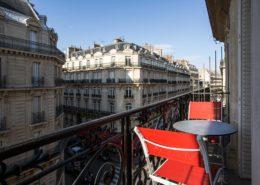 Suite hôtel Paris