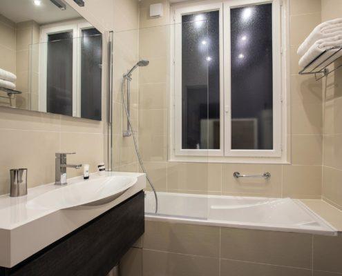 Salle de bain hotel Paris
